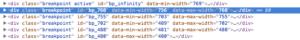 Muse responsive - Codeausschnitt