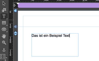 Muse Text-Werkzeug