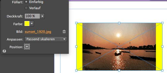Muse - Eigenschaft Fläche - Hintergrundfarbe