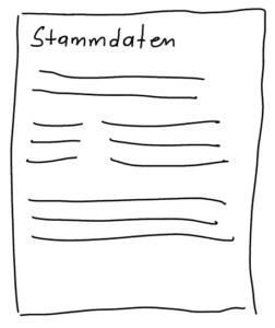 Verzeichnis der Verarbeitungstätigkeiten - Stammdaten