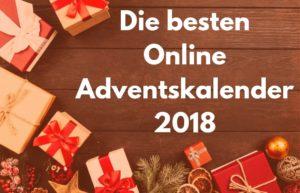 Die besten online Adventskalenderv2018