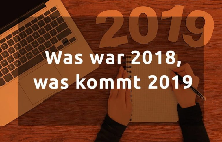 andreasstocker.at - Was war 2018, wie wird 2019 -