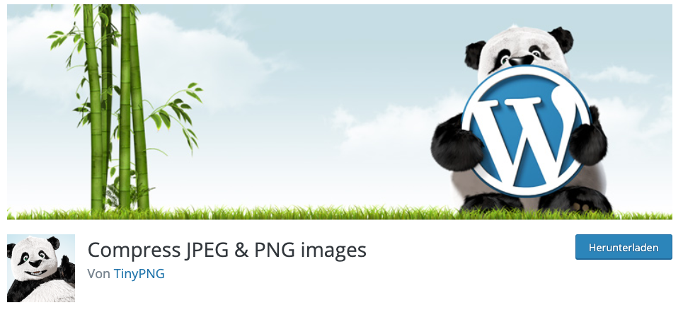 Website Tipp: Bilder mit TinyPNG optimieren - WordPress Plugin