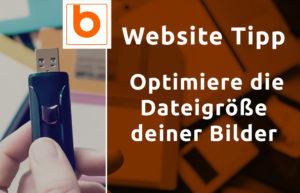 Blog Beitrag - Websitetipp Dateigroesse deiner Bilder