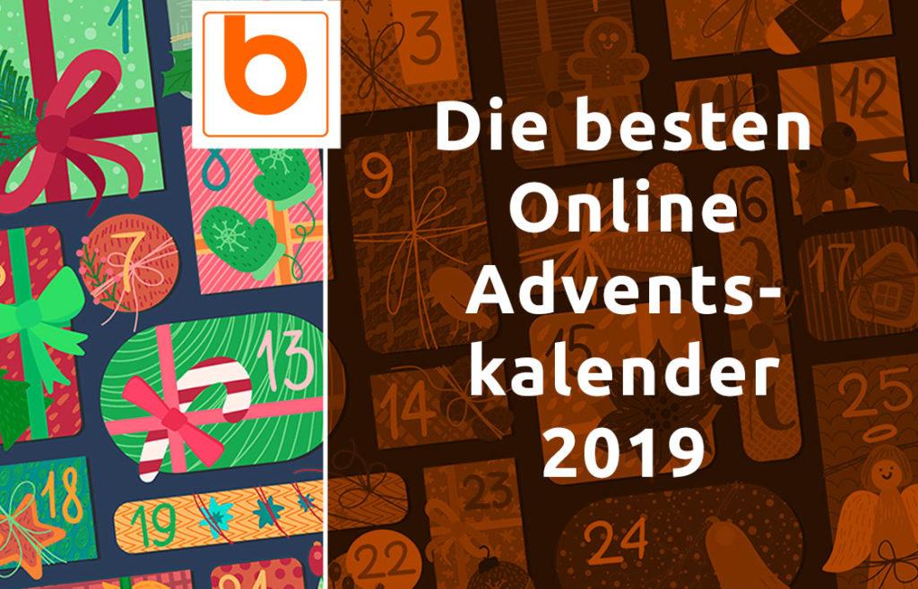 Die besten Online Adventskalender 2019