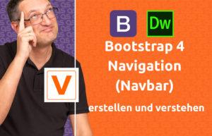 Bootstrap4 Navbar erstellen verstehen